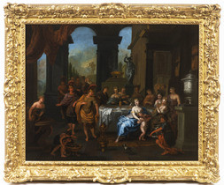 Banquet of Cleopatra and Mark Antony