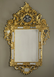 Decorative Baroque Mirror