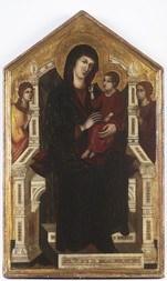 Enthroned Madonna with Child