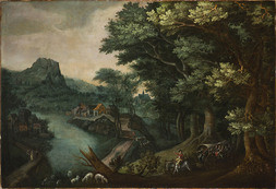 Landscape With Cart
