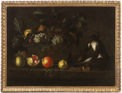 Still Life with a Monkey