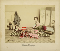 A COLLECTION OF 11 HAND COLOURED PHOTOGRAPHS