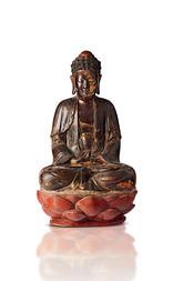 VELKÁ FIGURA BUDDHY ŠÁKJAMUNI