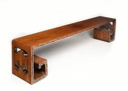 A HONGMU LONG LOW TABLE, KANGAN
