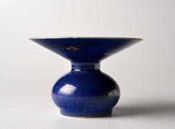 A BLUE-GLAZED ZHADOU