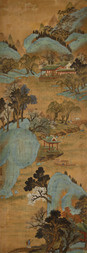 LANDSCAPE WITH A WATER PALACE