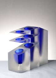 A GLASS VASE