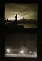 TWO VIEWS OF PRAGUE