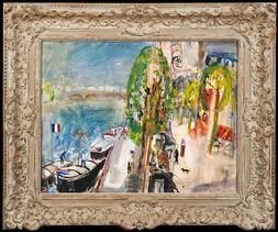 BY THE SEINE IN PARIS