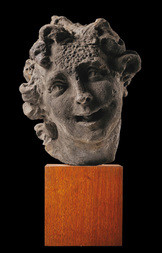 HEAD OF A FIGURE - FRAGMENT