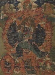 A THANGKA OF DHARMAPALA YAMANTAKA