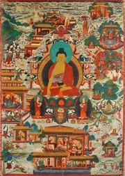 THANGKA - BUDDHA ŠÁKJAMUNI
