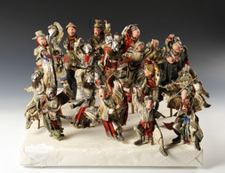 FIGURES FROM THE PEKING OPERA