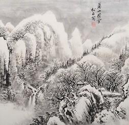 SNOW GATHERS ON THE TEN THOUSAND MOUNTAINS