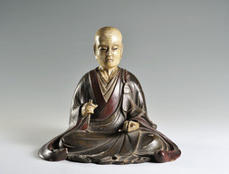 A SEATED ZEN MASTER