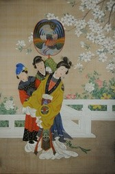 EMPRESS WITH TWO ATTENDANTS