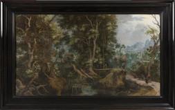Lesní scéna