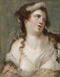 Portrait of a Partly-Clothed Woman