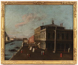 Piazzetta With a View of the Library and the Grand Canal