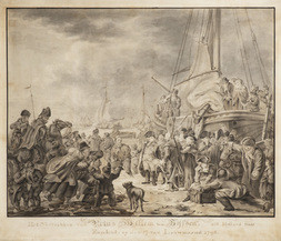 The Departure of William V, Prince of Orange, For England