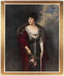 Portrét šlechtičny