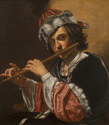 Young Man with a Flute