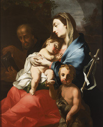 Holy Family with Saint John the Baptist as a Child