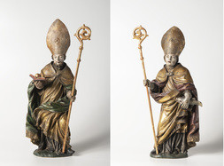 Saint Nicholas and Saint Uldrich