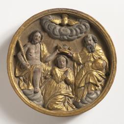 Deset kruhových reliéfů