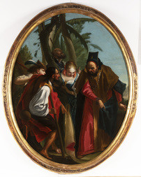 Erysichthon Cutting Down the Sacred Tree of Ceres