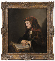 Portrét starší ženy