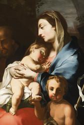 Svatá rodina s malým Janem Křtitelem