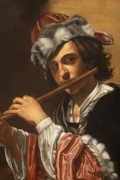 Mladík s flétnou