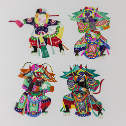 A GROUP OF CHINESE PAPER CUTS