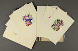 AN ALBUM OF CHINESE FOLK PAPER CUTS