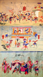 THREE SCENES FROM THE CHINESE OPERA