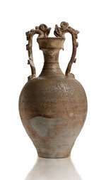 A DRAGON-HANDLED BALUSTER