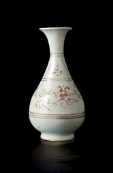 A PEAR-SHAPED VASE, HU