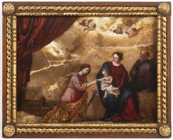 Mystické zasnoubení sv. Kateřiny Alexandrijské
