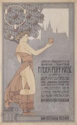 Návrh plakátu na 30. výročí uměleckého závodu Mayer, Popp, Riedl
