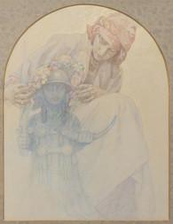 Dívka s pohanským bůžkem