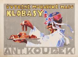 Reklamní návrh I.-Moravské maso, klobásy, Koubek