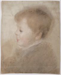 Portrét chlapce z profilu