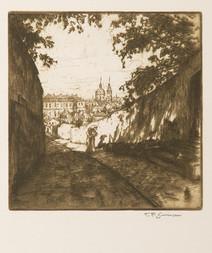 Vlašská ulice pod Petřínem