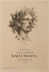 Konvolut: Oslava 100. narozenin Josefa Mánesa / K. B. Mádl