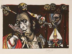 Salvador Dalí jako Don Juan