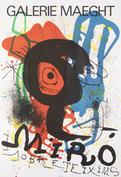 Plakát galerie Maeght Sobreteixims