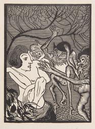 Putování malého elfa s úvodní mytickou básní od Josefa Šimánka