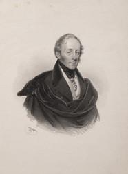 Konvolut tří kusů portrétních litografií