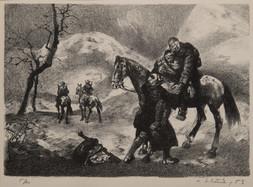 Povstanie, 6 litografií z cyklu
